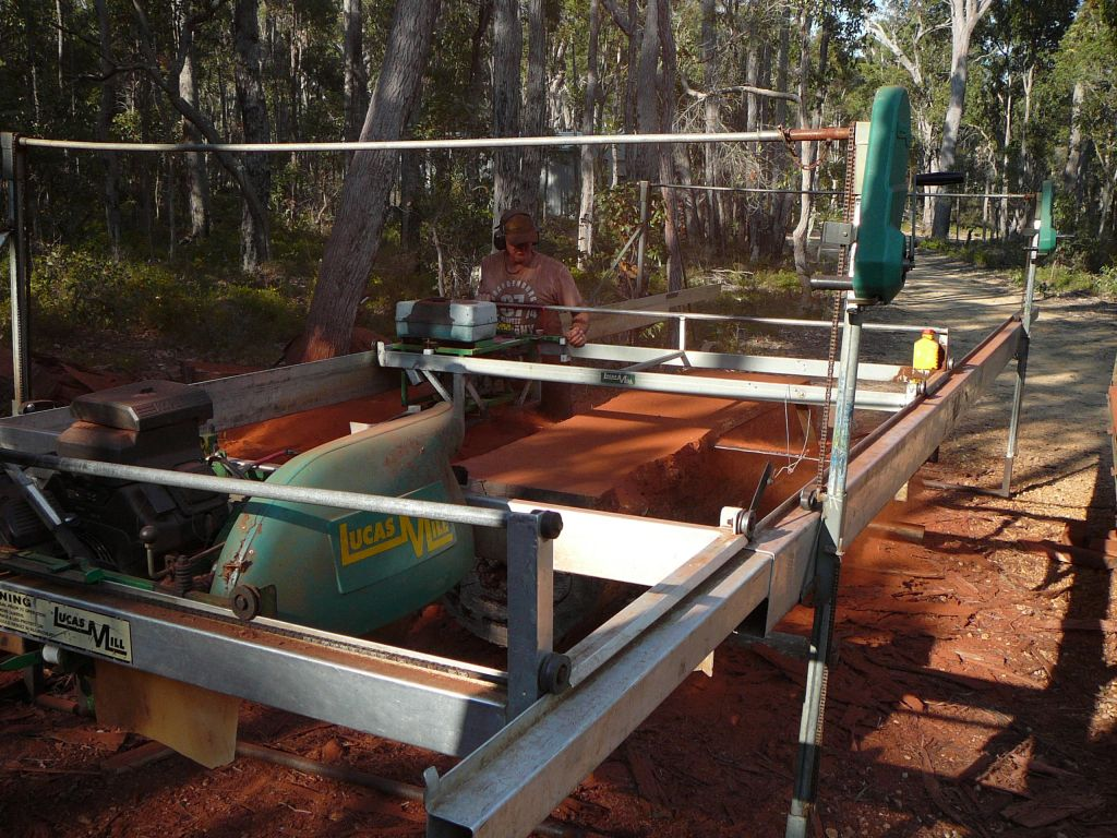 Portable Sawmill HireGracewood Timber Products